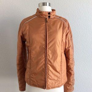 Mantique Orange Puffy Jacket